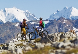 high altitude biking in europe
