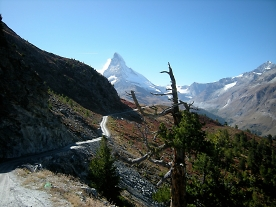 riding out of zermatt