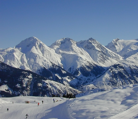 Disentis slopes