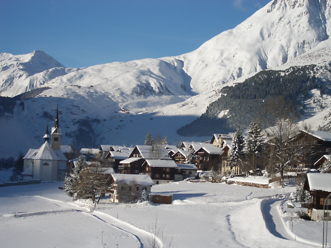 Sedrun - One of Switzerland's best Free-Ride areas